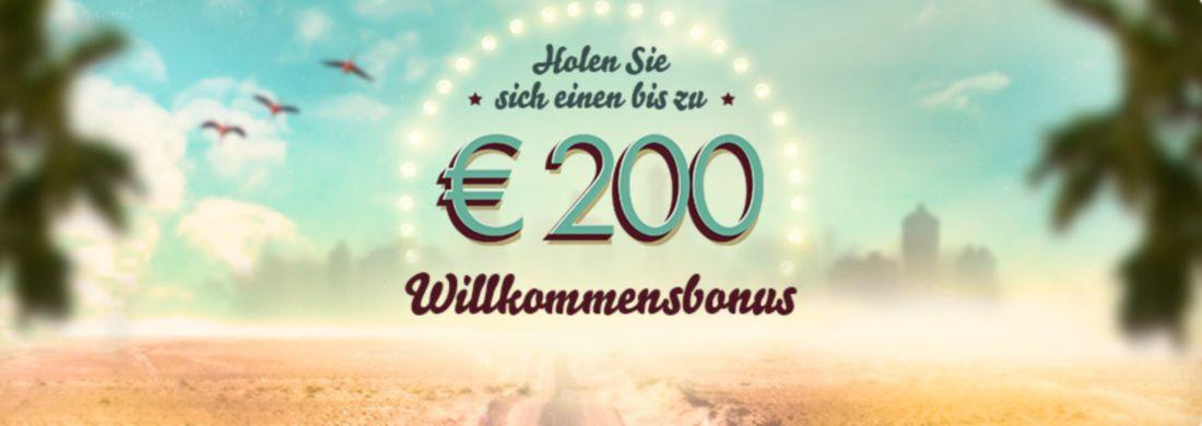 200€ 777 Casino Bonus