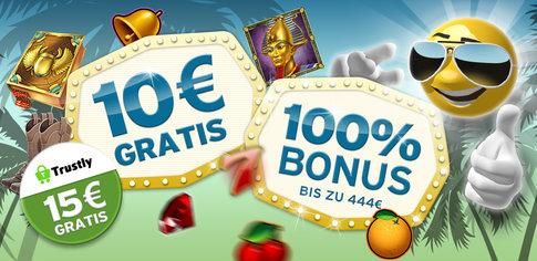 Trustly Bonus im Casino