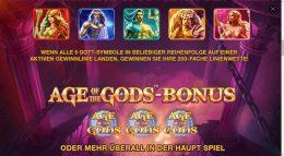 Age of the Gods Vorschau Bonus