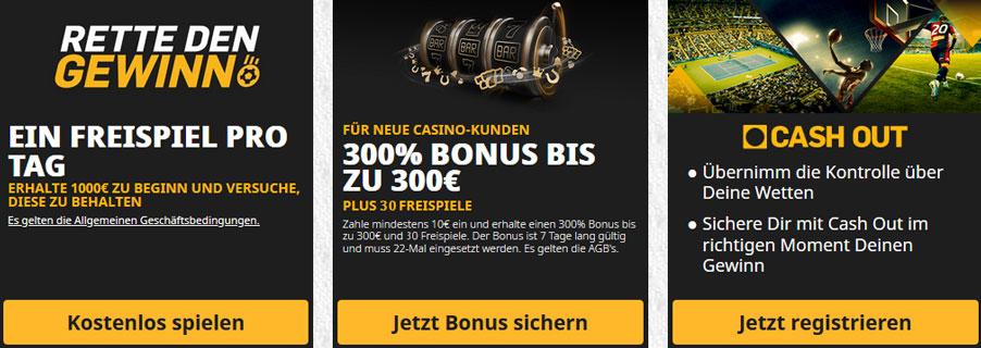 Betfair Casino Promos