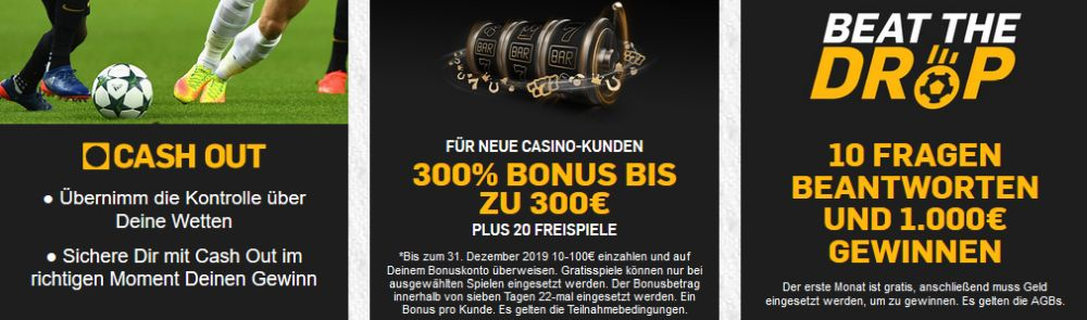 Betfair Promotionen