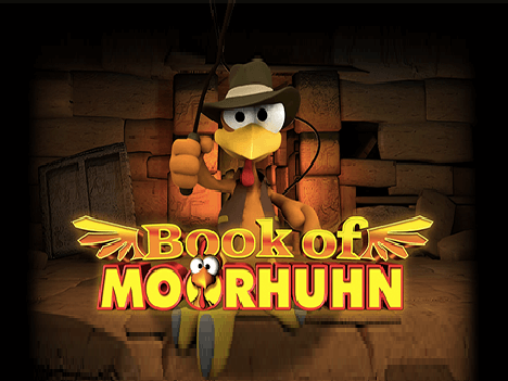book of moorhuhn logo