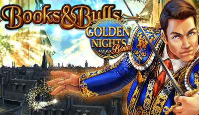 books and bulls golden nights logo