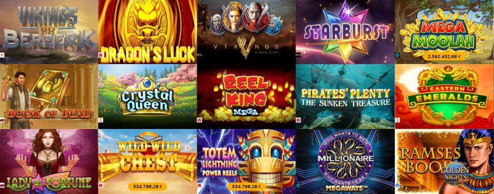 Casino Cruise Spiele