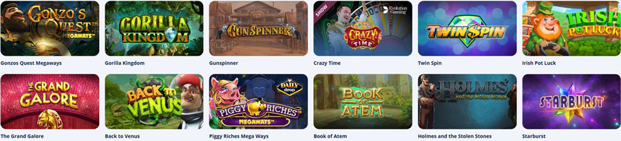Casino Room Spiele