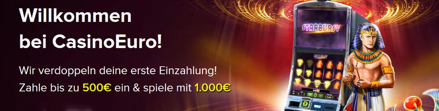 Casino Euro Bonus Banner