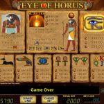 Eye of Horus Gewinne