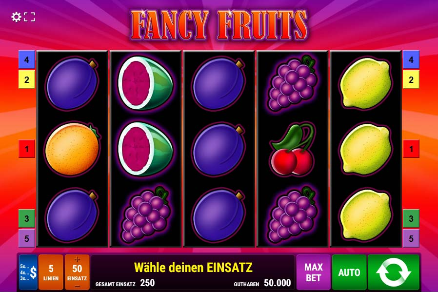 Fancy Fruits kostenlos spielen (Gamomat) auf Mobile-Casino.com