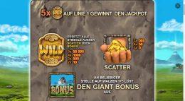 Jackpot Giant Vorschau Bonus