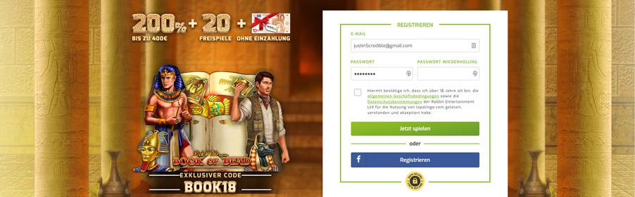 Lapalingo Casino Bonus Banner