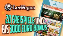 LeoVegas App - ausgezeichneter mobiler Anbieter