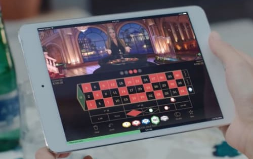 mobile casino tablet