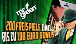 Mr Green Casino App - Mobil spielen und Bonus abräumen