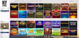 NYSpins Casino Spiele
