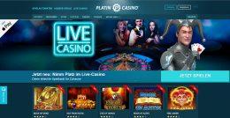 Platincasino Live Casino