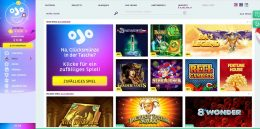 PlayOJO Casino Spiele