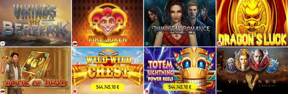 Spinit Casino Spiele