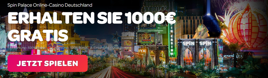Spinpalace Casino Bonus Banner