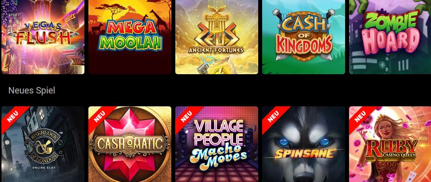 Spinpalace Casino Spiele