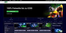 Spinpalace Casino Sportwetten