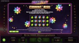 Starburst Vorschau Feature
