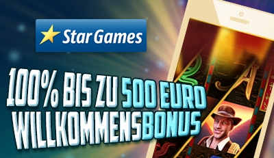 Stargames Mobil Bonus