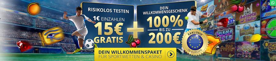Sunmaker Casino Bonus Banner