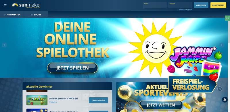 Sunmaker Mobile Casino