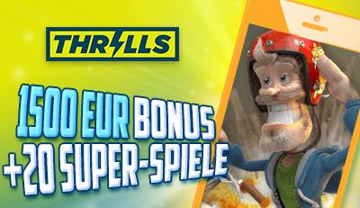 thrills handy casino bonus