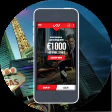 Vegas Hero mobil