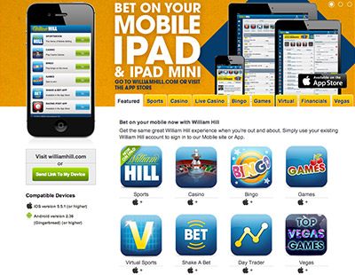 william hill casino mobile